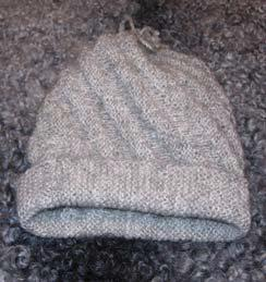 Knitted hat designed by Vreta farm